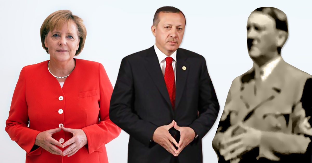 Kompliment oder Beleidigung? Erdogan wirft Deutschland Nazi-Praktiken vor