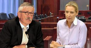 Noktara - Kopftuchmädchen - Sarrazin verklagt Weidel wegen Urheberrechtsverletzung