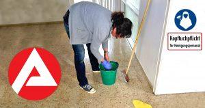 Kopftuchpflicht für Reiningungspersonal: Putzfrau gefeuert, weil sie kein Kopftuch tragen wollte!