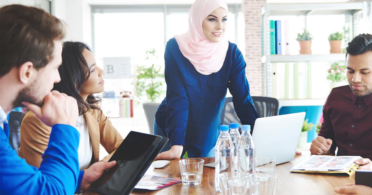 Noktara - Kopftuchquote - Unternehmen sollen mehr Frauen mit Kopftuch in Führungspositionen beschäftigen