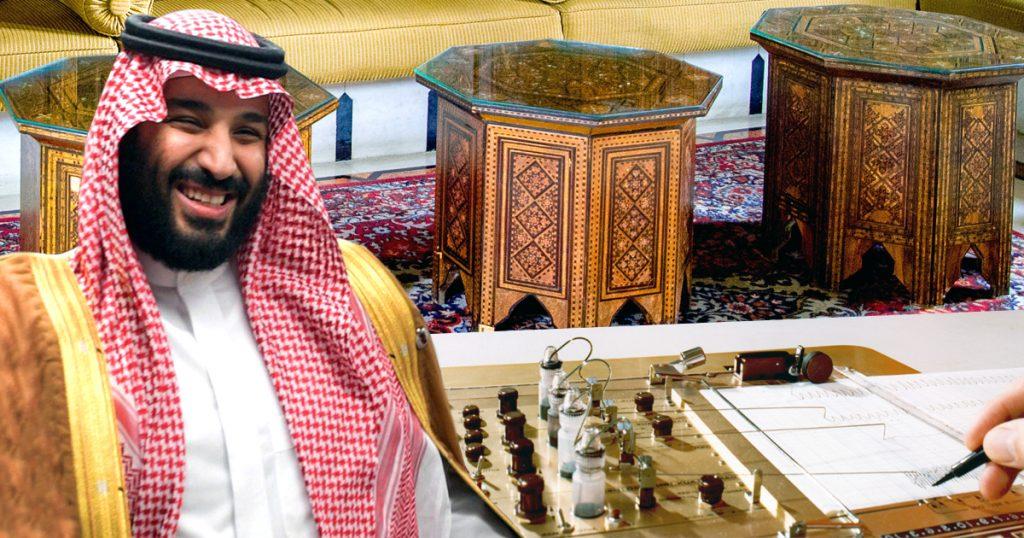 Noktara - Kronprinz Mohammed bin Salman fällt plötzlich ein, dass Lügen haram ist