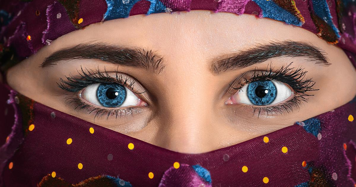 Noktara - Lesbische Muslima trägt Niqab, um keine Fitna für andere Frau zu sein