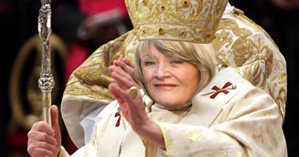 Liberale Kirche ernennt Alice Schwarzer zur Päpstin
