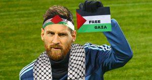 """Noktara - Lionel Messi nach Israel-Absage - """"Ich spiele lieber gegen Palästina."""
