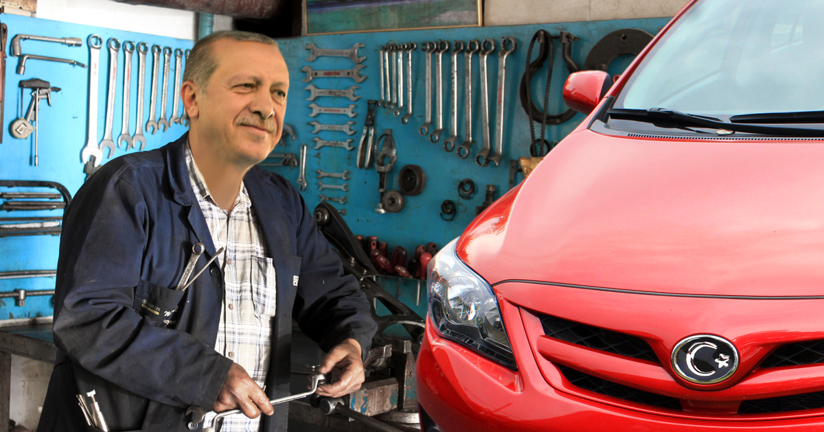 Made in Turkey: Erdogan baut türkisches Auto