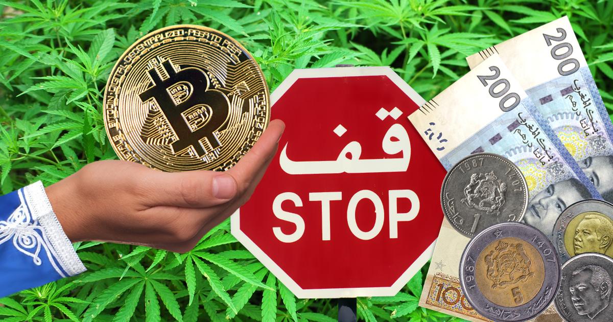 Marokko verbietet Drogenhandel mit Bitcoins