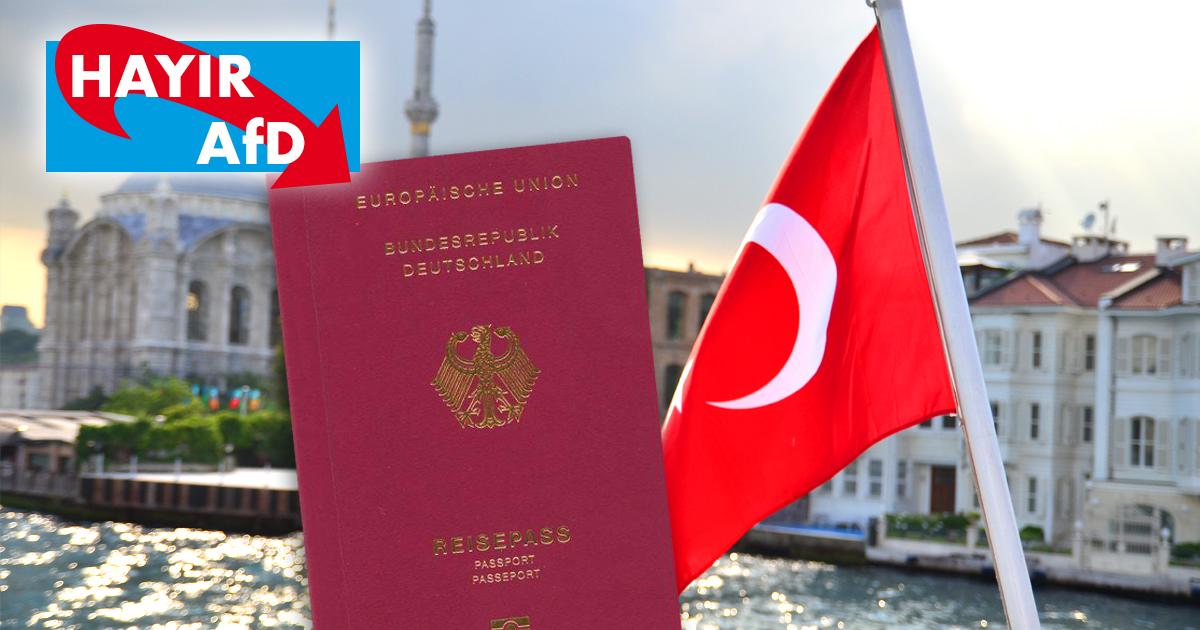 Massenhaft Türken bürgern ein, um AfD unter Fünf-Prozent-Hürde zu halten