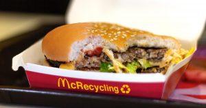 Noktara - McDonald's präsentiert Burger aus zusammengetackerten Resten