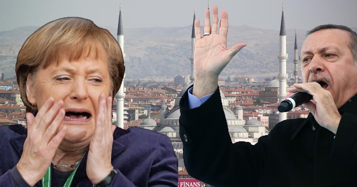 Merkel muss draussen bleiben: Türkisches Einreiseverbot für Christen
