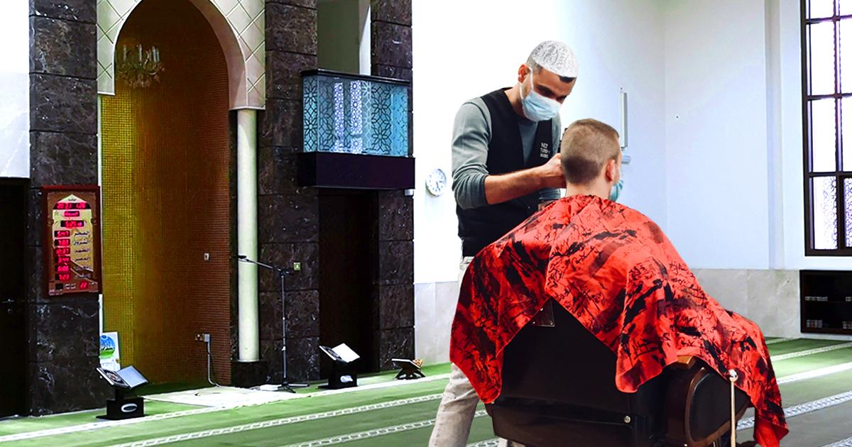 Noktara - Moschee erweitert Gottesdienst um Friseurbesuch