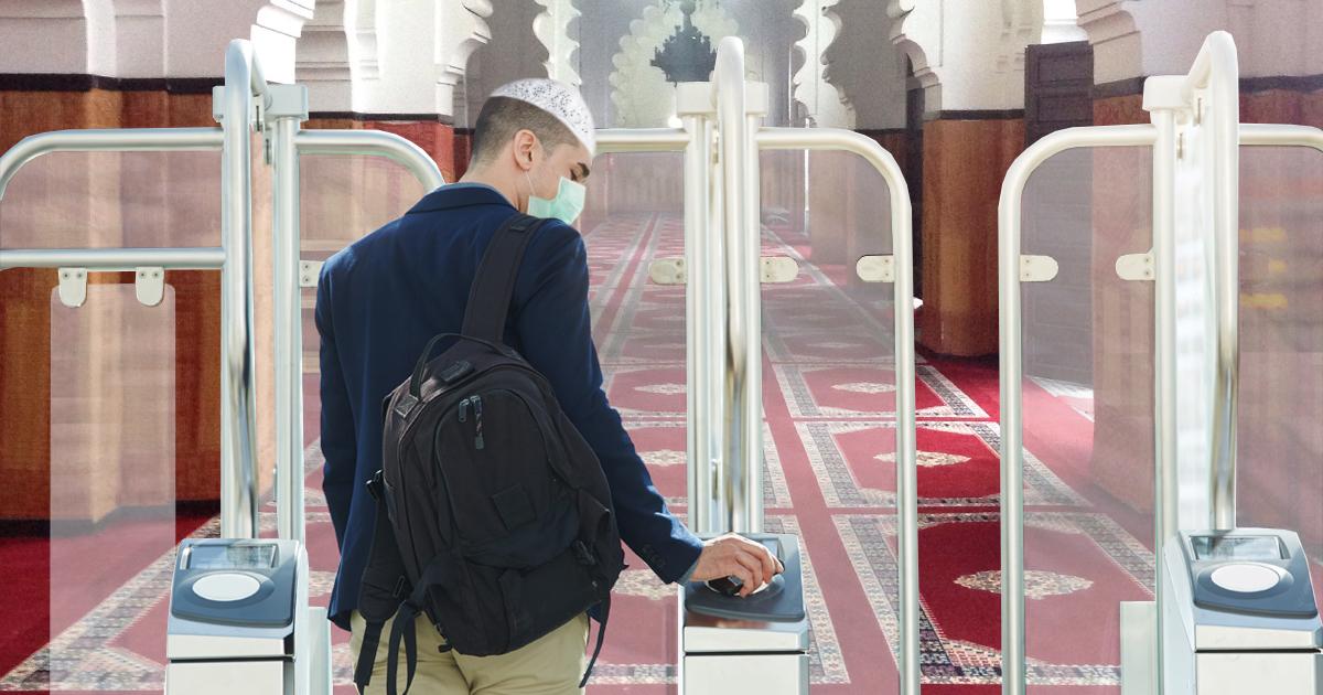 Noktara - Moschee trotz strengen Corona-Vorgaben bestens vorbereitet auf Wiedereröffnung