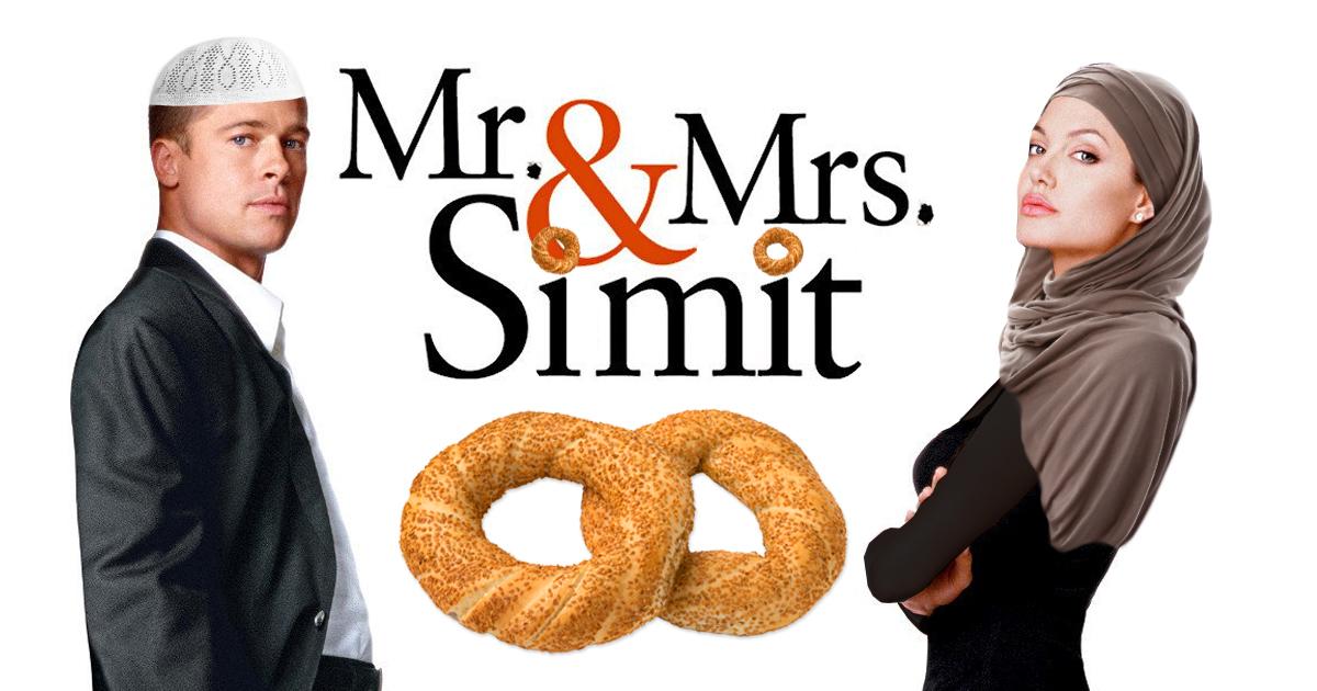 Noktara - Mr. & Mrs. Simit - Türkische Action-Komödie mit Bread Pide und Angelina Çolie
