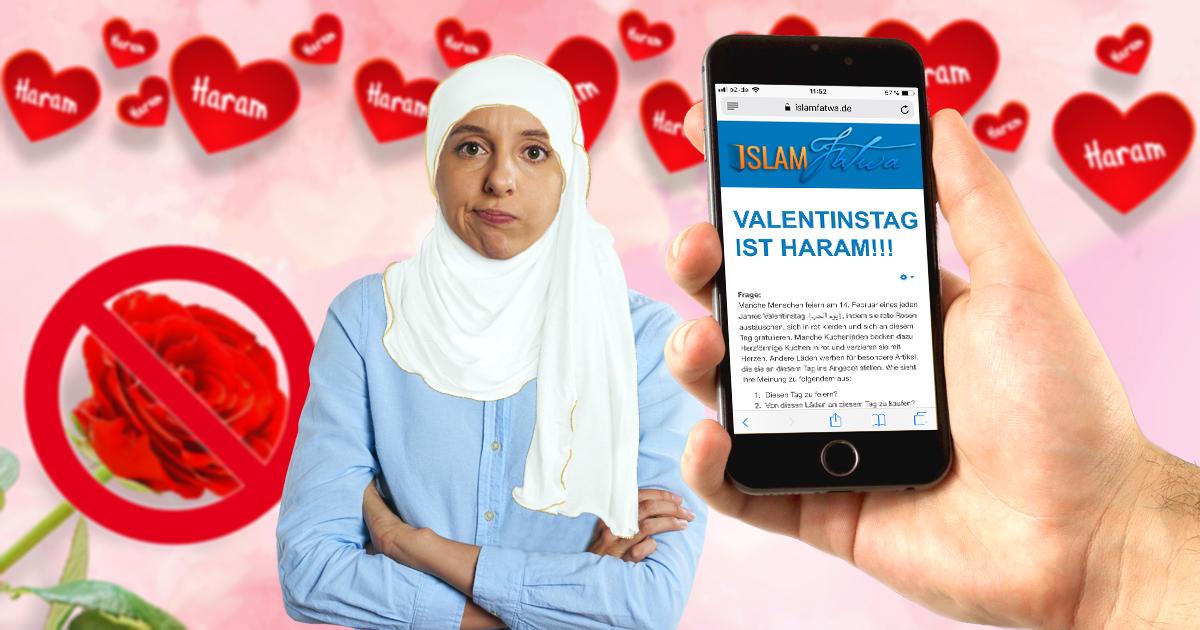 Muslim überrascht seine Frau zum Valentinstag mit einer Fatwa