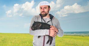 Noktara - Muslim hat Schwein total lieb und versteht nicht warum andere es töten und essen wollen