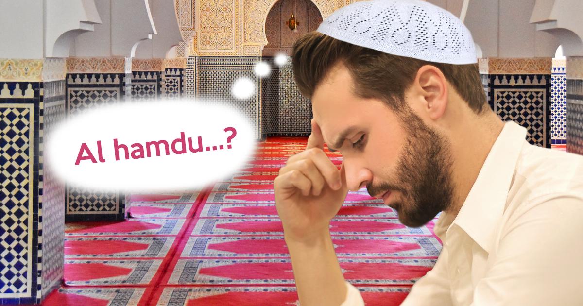 Noktara - Muslim vergisst Al-Fatiha, weil sein letztes Gebet schon ein Jahr her ist