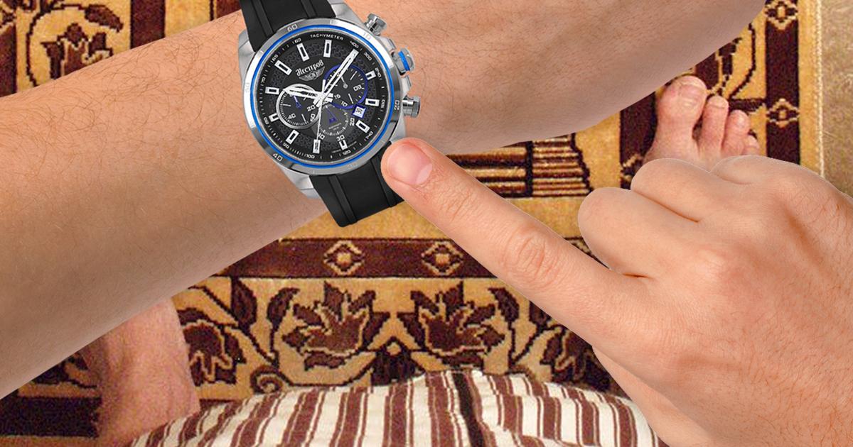 Noktara - Muslim weiß plötzlich auf die Minute genau wann Gebetszeit ist