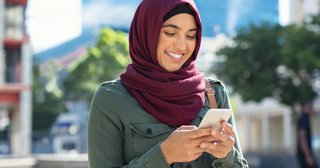 Noktara - Muslima freut sich total über lieblos kopierte Ramadangrüße
