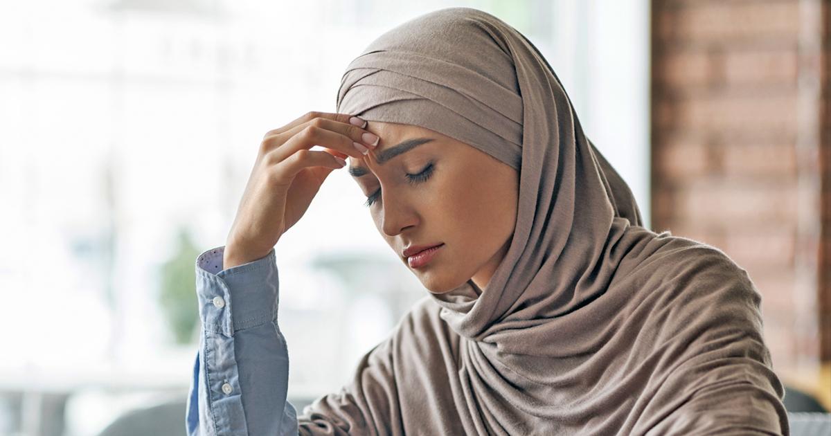 Noktara - Muslima mit Kopftuch sauer, weil er ihre neue Frisur nicht bemerkt
