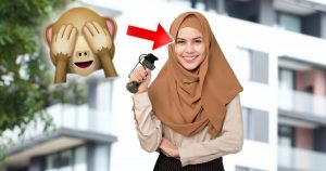 Noktara - Muslima wirft Blendgranate, weil Haarsträhne aus Kopftuch rutschte