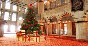 Noktara - Muslime veranstalten Weihnachtsfeier in Moschee