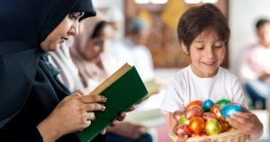 Noktara - Muslime veranstalten große Ostereiersuche in der Moschee