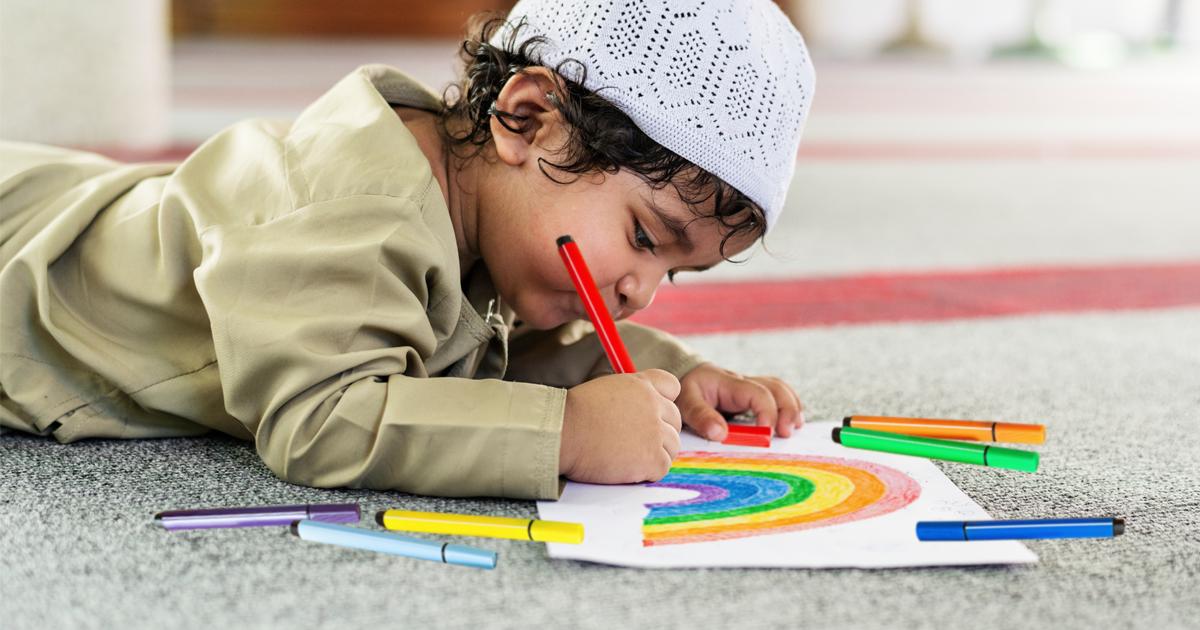 Noktara - Muslimische Eltern besorgt, weil Kind Regenbögen malt