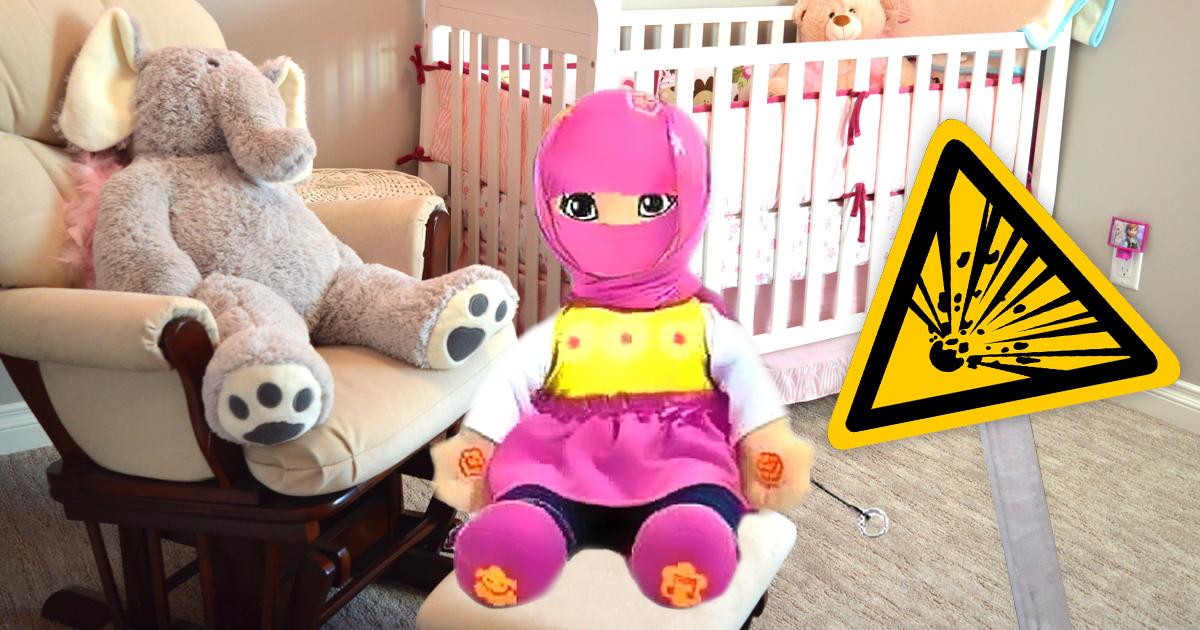 Muslimische Puppe mit Sprachfunktion: Keiner traut sich zu ziehen
