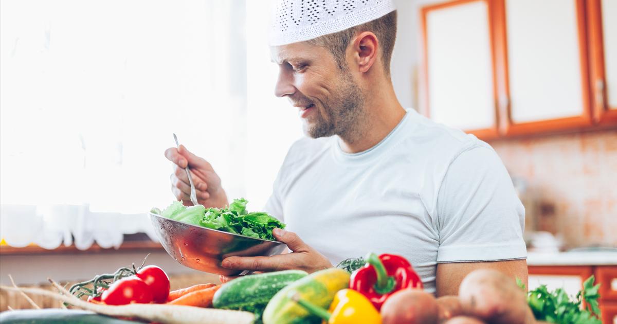 Noktara - Muslimischer Vegetarier findet Verzicht auf Schweinefleisch total easy