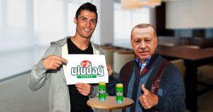Noktara - Nach Cristiano Ronaldos Erdogan-Selfie- Uludağ-Aktienkurs schießt in die Höhe
