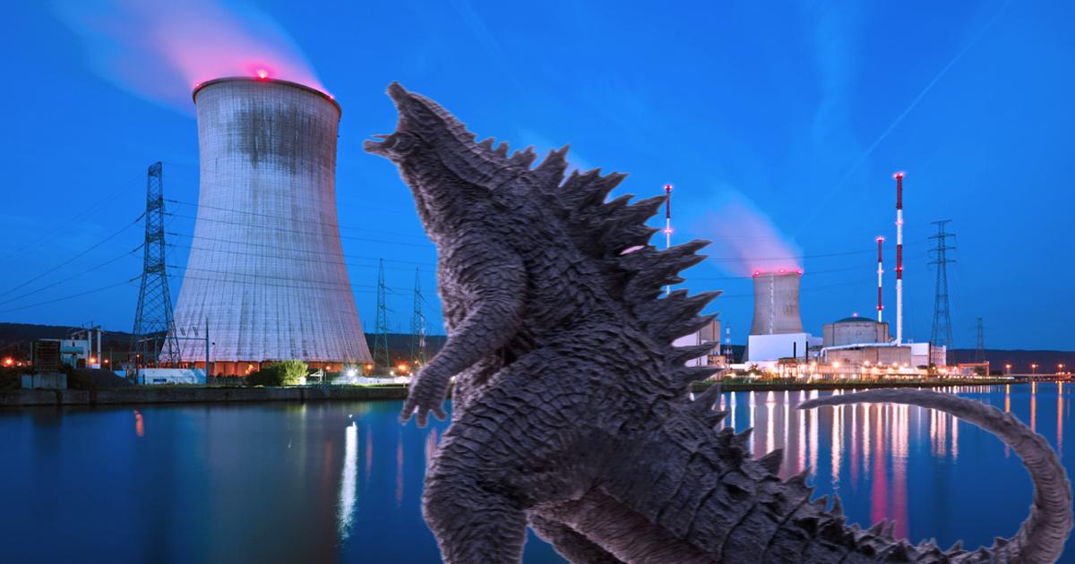 Noktara - Nach Einleitung von radioaktivem Wasser- Godzilla vor Japans Küste gesichtet