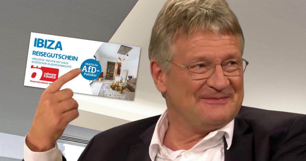 Noktara - Nach Rücktritt aller FPÖ-Minister - Meuthen gewinnt Reise nach Ibiza - Strache Villa