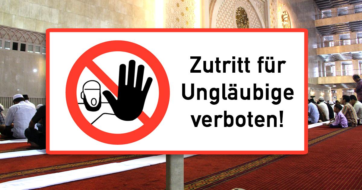 Nach Tag der offenen Moschee wieder ganzjährig geschlossen
