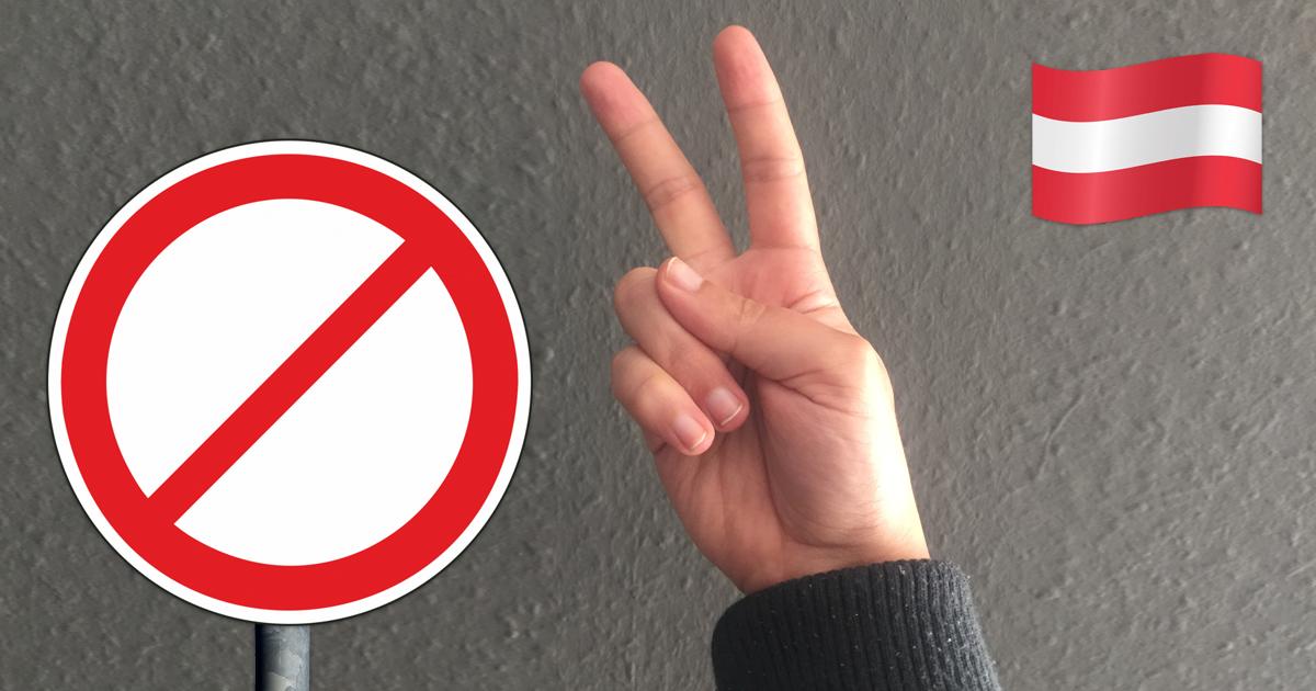 Noktara - Nach Wolfsgruß-Verbot - Weitere Handzeichen, die verboten werden - Peace