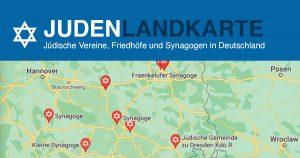Noktara - Nach österreichischer Islam-Landkarte- Webseite mit deutscher Juden-Landkarte gestartet