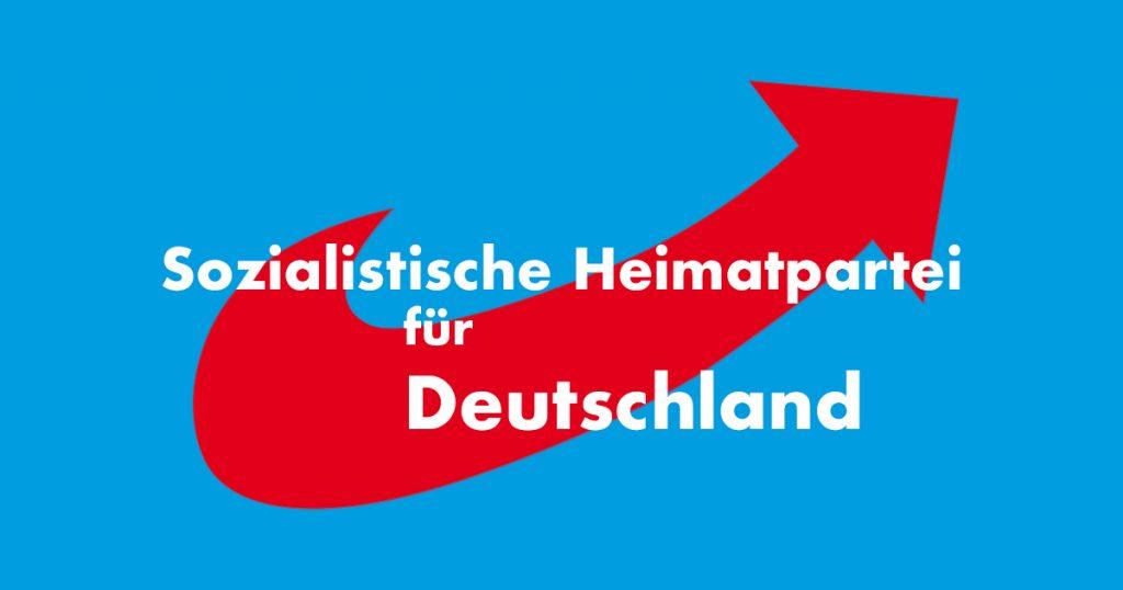 Noktara - Namensänderung - NPD stellt neues Parteilogo vor - Sozialistische Heimatpartei für Deutschland