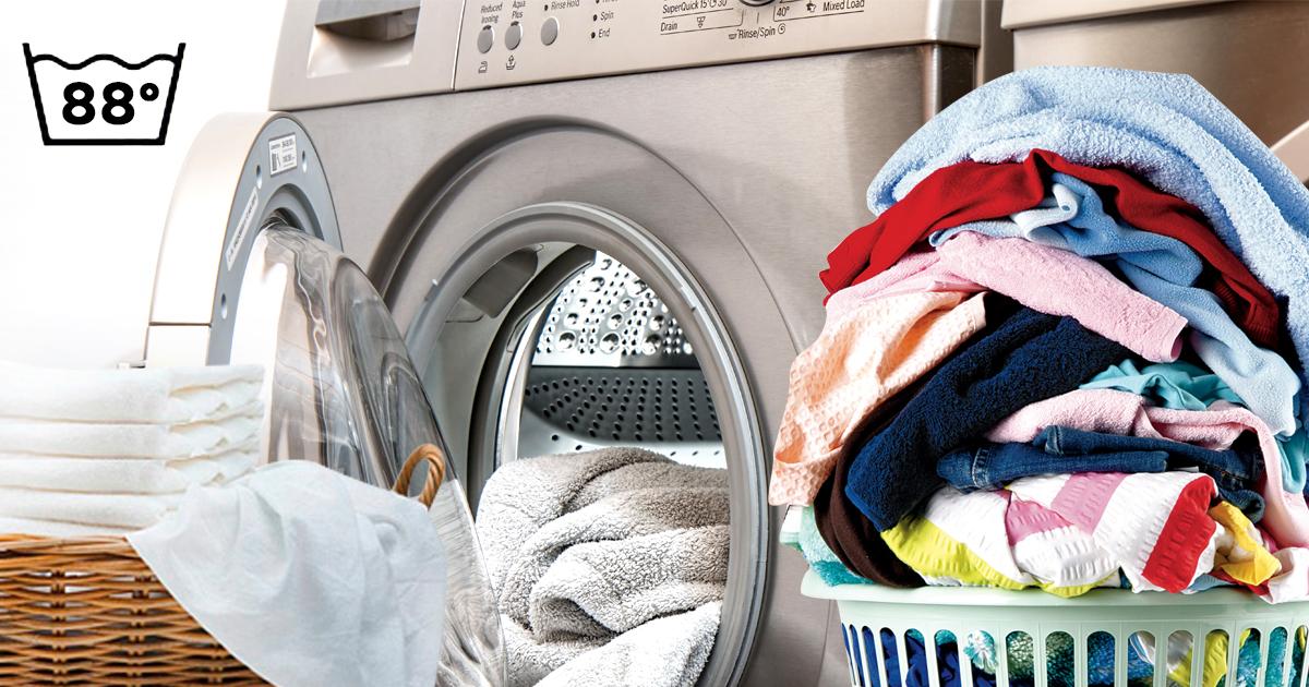 Für die Reinheit: Rassist trennt Weißwäsche stets von Buntwäsche