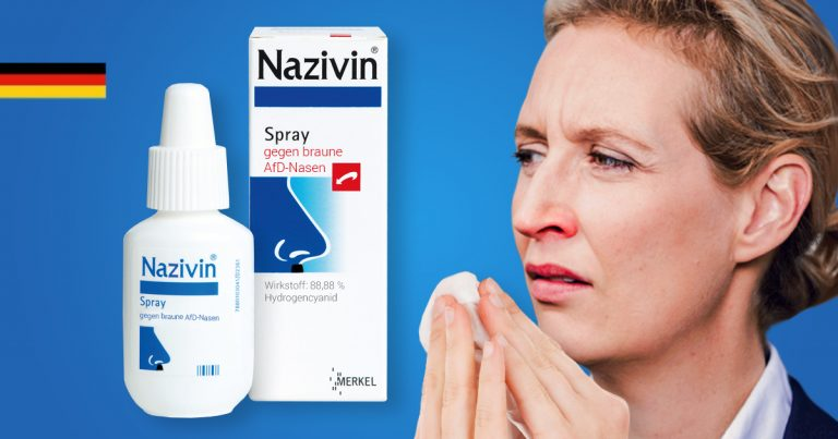 Noktara - Nazivin - Endlich wirksames Heilmittel gegen AfD-Nasen