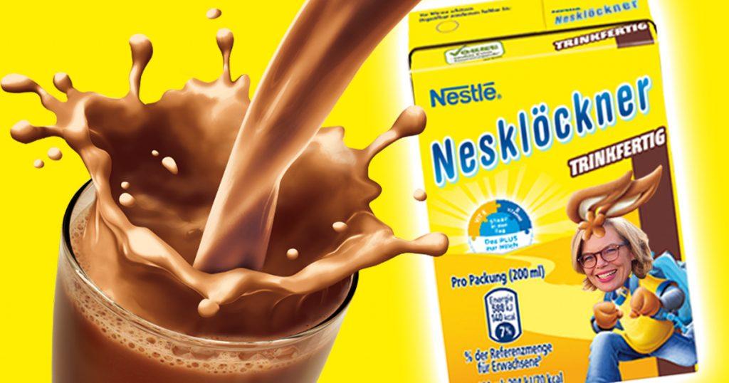 Noktara - Nestlé stellt neues Produkt vor - Nesklöckner trinkfertiger Kakao