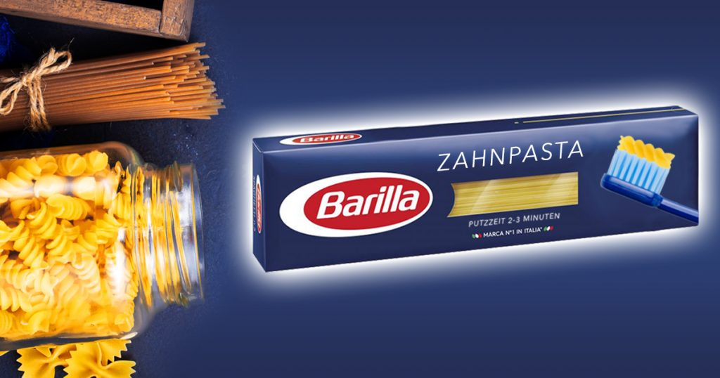 Noktara - Neu von Barilla - Original italienische Zahnpasta für al dente Zähne - Packung