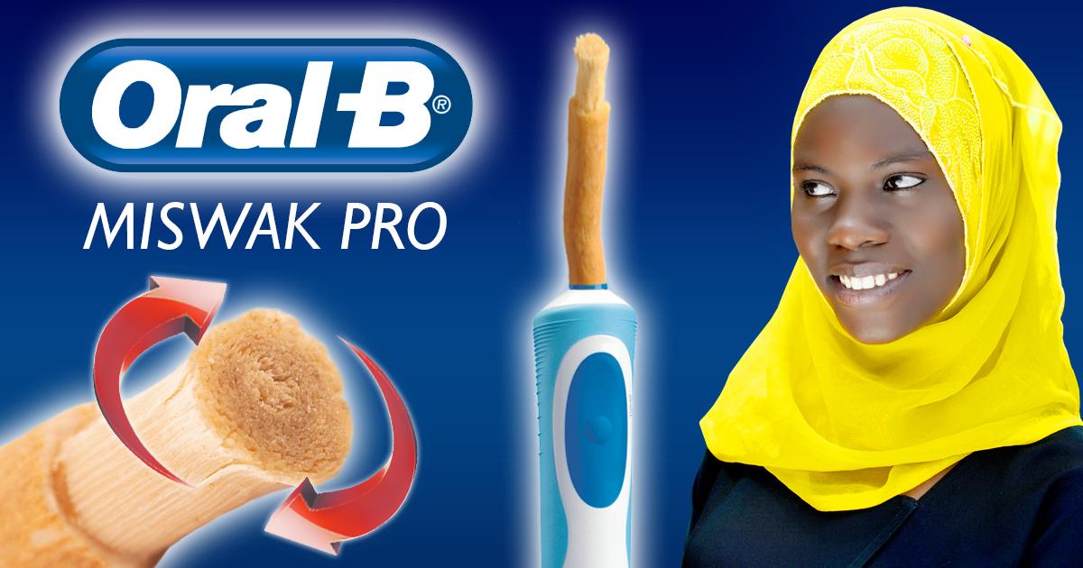 Neu von Oral-B: Die erste elektrische Zahnbürste mit Miswak