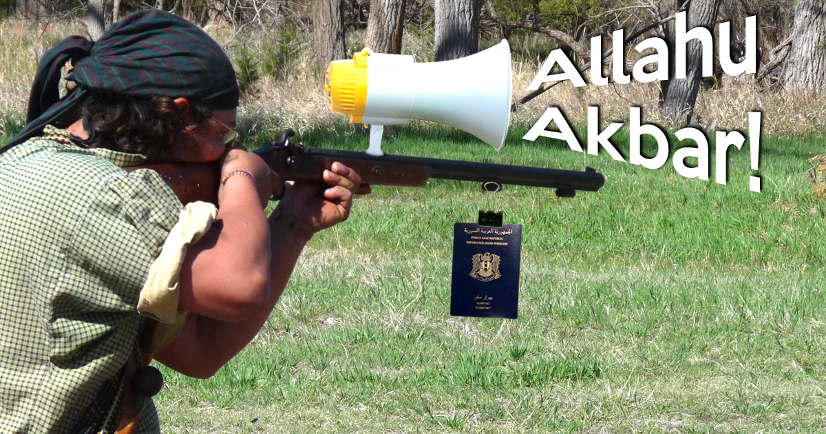 Neues Gewehr ruft automatisch Allahu Akbar!