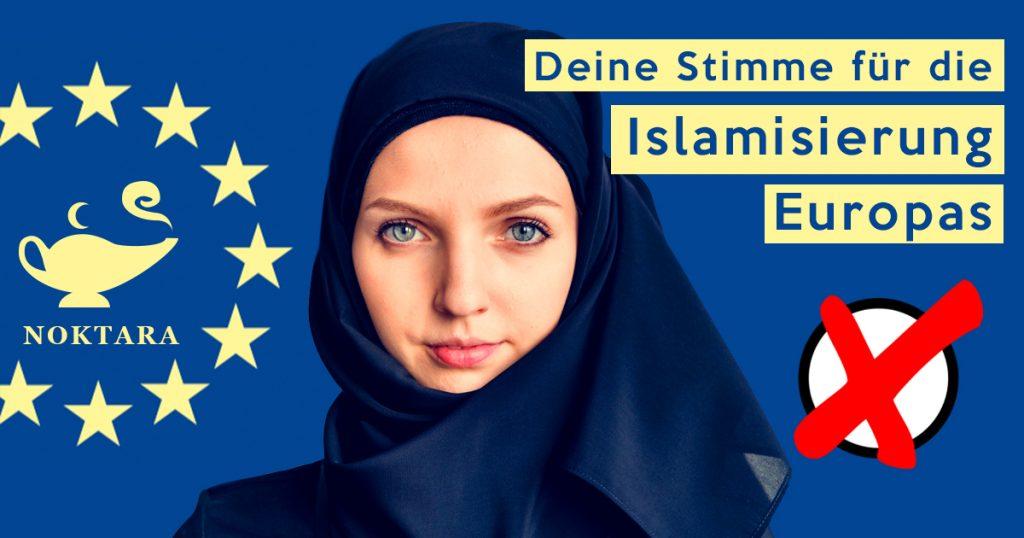 Noktara - Noktara tritt als Partei zur Europawahl an und verspricht Islamisierung