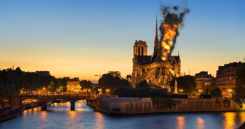 Noktara - Notre-Dame - Schwarzer Rauch wurde stundenlang für Papstwahl gehalten