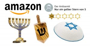 Noktara - Nur ein gelber Stern - Antisemit bewertet jüdische Produkte negativ - Judenstern