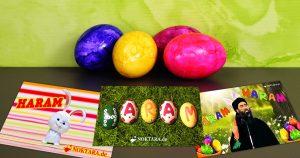 Noktara - Ostern- 7 islamische Festgrüße - Grußkarten