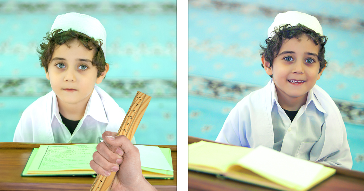 Pädagogik: Kinder lernen ohne Schläge viel besser Koran