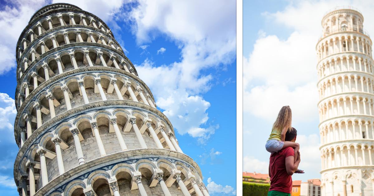 Noktara - PISA-Studie- Italienischer Turm immer noch schief- Schiefer Turm von Pisa