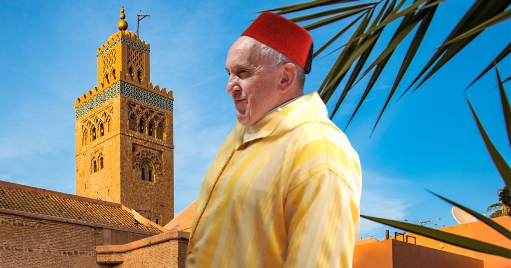 Noktara - Papst in Marokko - Franziskus überlegt nach Marrakesch auszuwandern