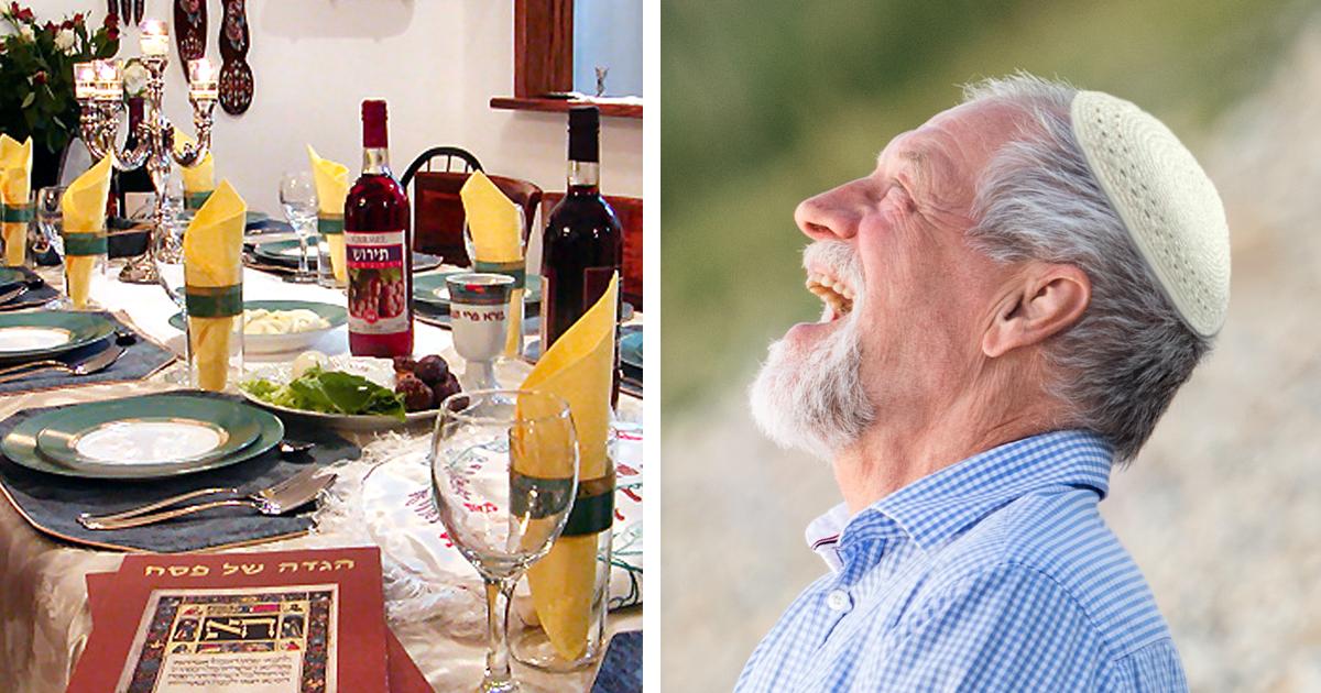 Noktara - Pessach- Jude froh, dass er wegen Corona niemanden besuchen muss