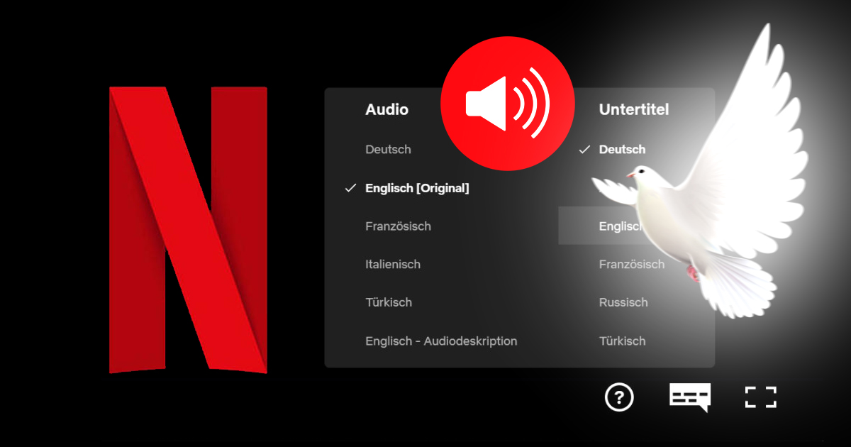 Noktara - Pfingstwunder - Netflix-Nutzer hören automatisch Audiospur in eigener Sprache - Xenoglossie - Heiliger Geist - Pfingsten